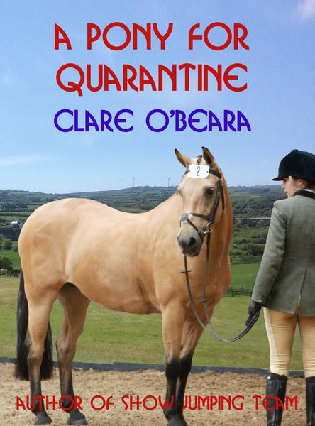 Book cover: A Pony For Quarantine by Clare O'Beara