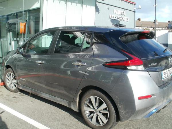 Nissan Leaf at Windsor Motors, Raheny, Dublin