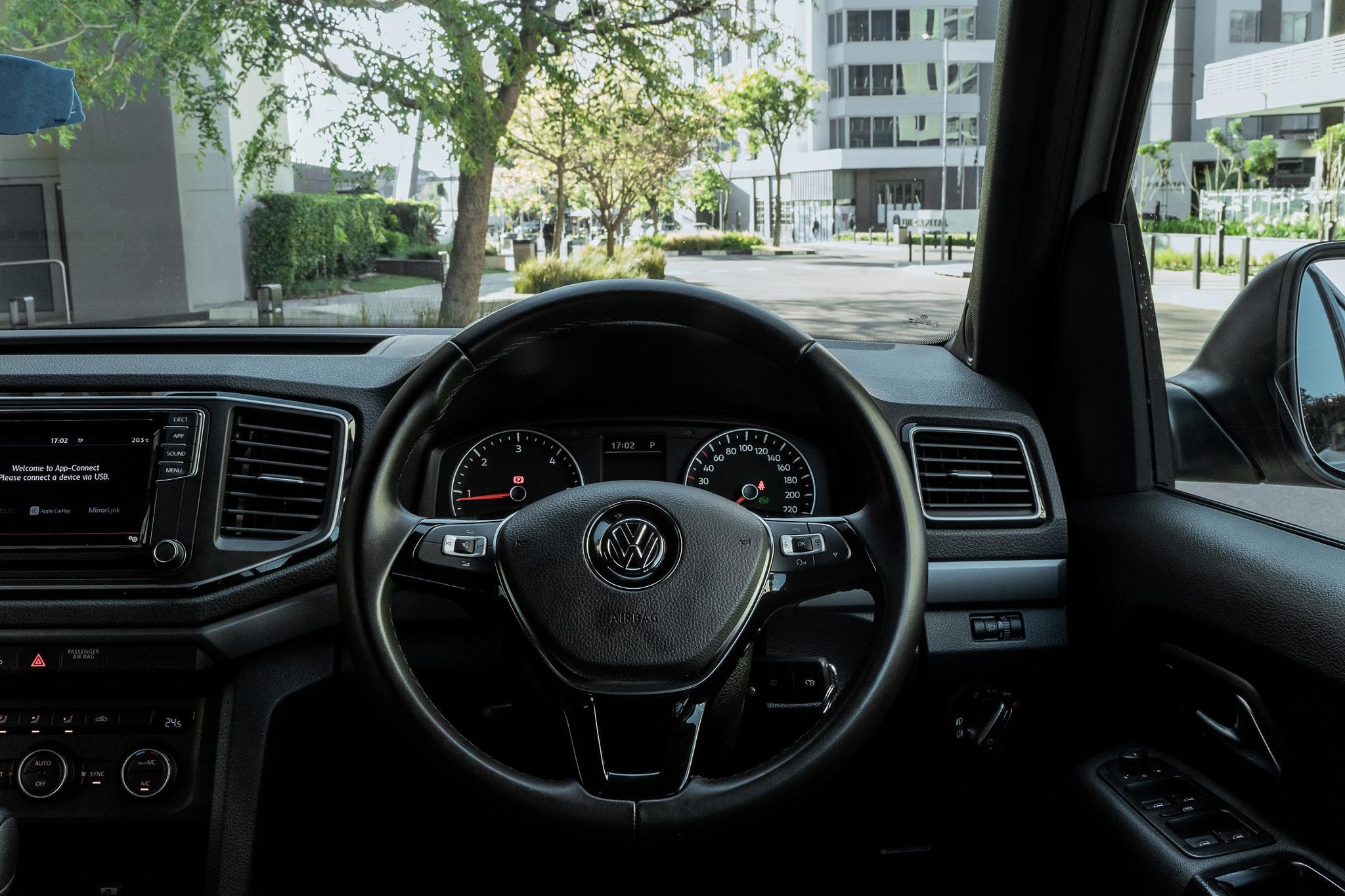 The Volkswagen Amarok Dark Label Interior