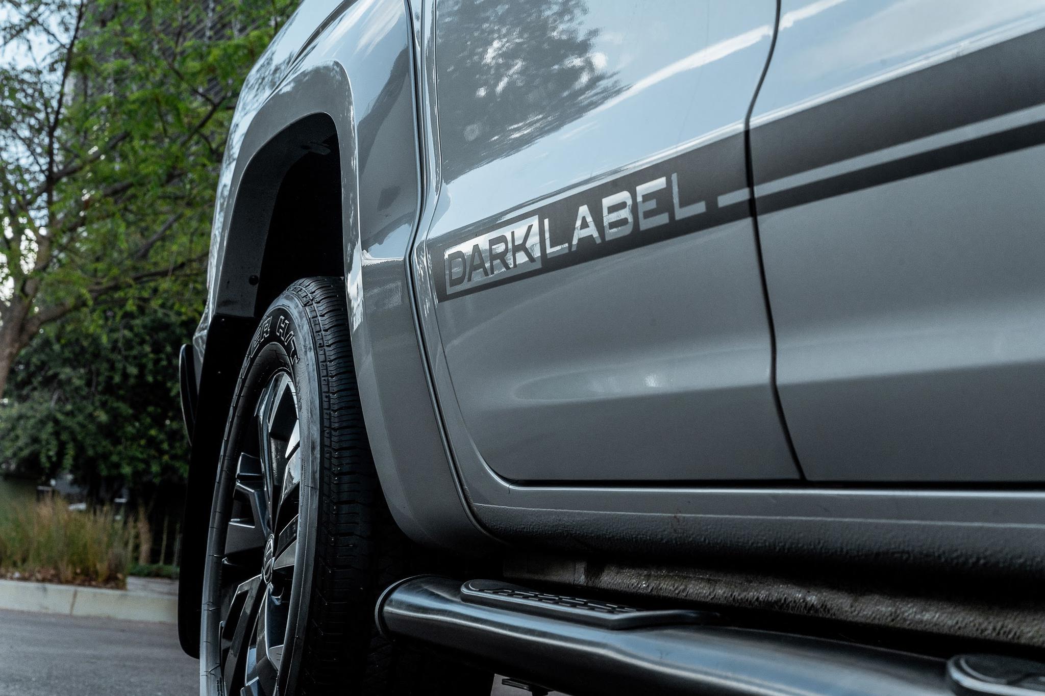 The Volkswagen Amarok Dark Label