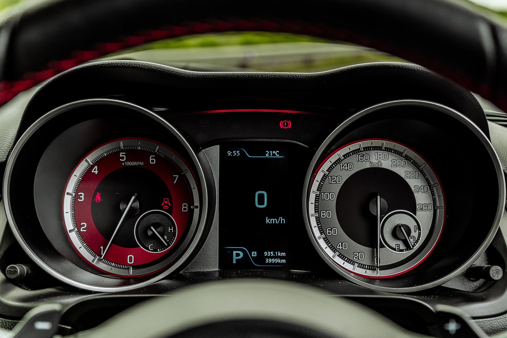 The Suzuki Swift Sport 1.4T Interior
