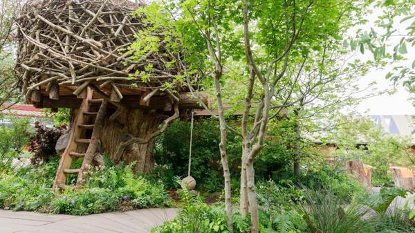 Treehouse at Chelsea Flower Show