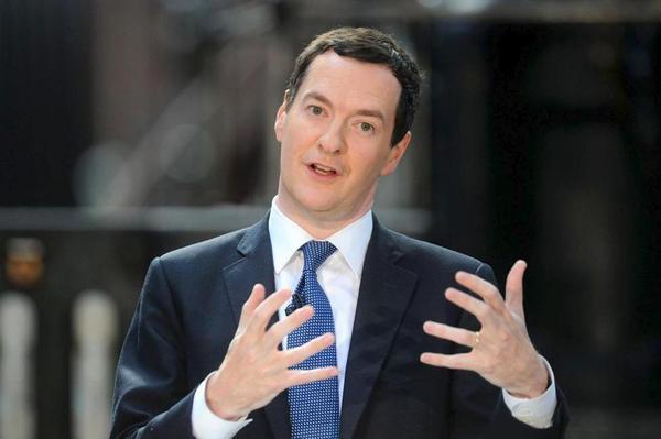 George Osborne gesticulating